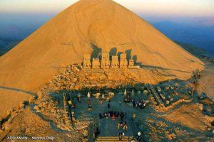 Nemrut Dağı Havadan Görüntü