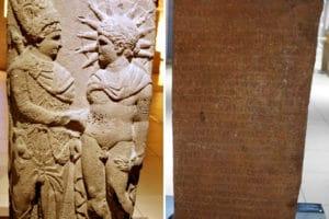 Antiokhos Apollon Steli El Sıkışma