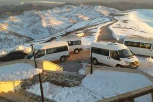 Nemrut Minibüsler Otopark Kış